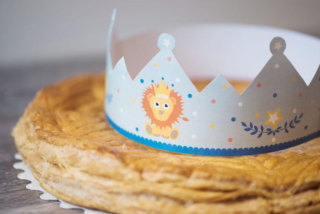 DIY Printable couronne en papier de la galette des rois
