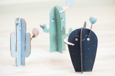 Diy Printable Cactus en papier