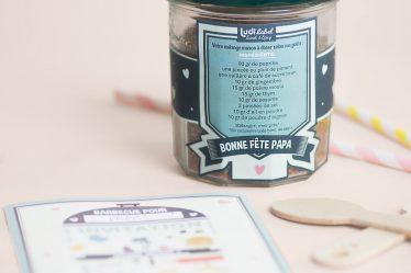 DIY Printable Decorations Pots d'épices et Invitation Barbecue pour la fête des pères