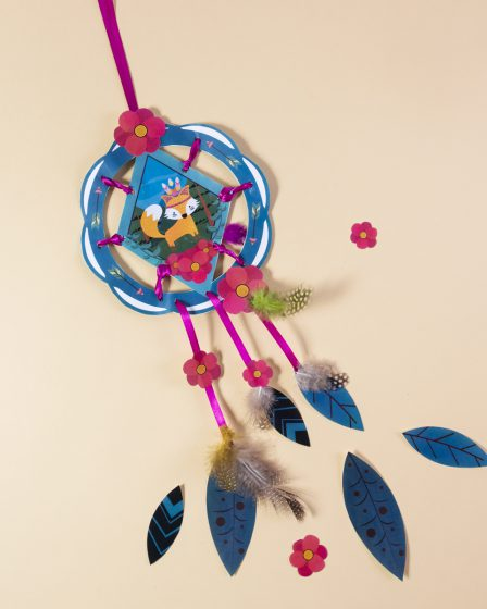 DIY Printable Dream Catcher en papier