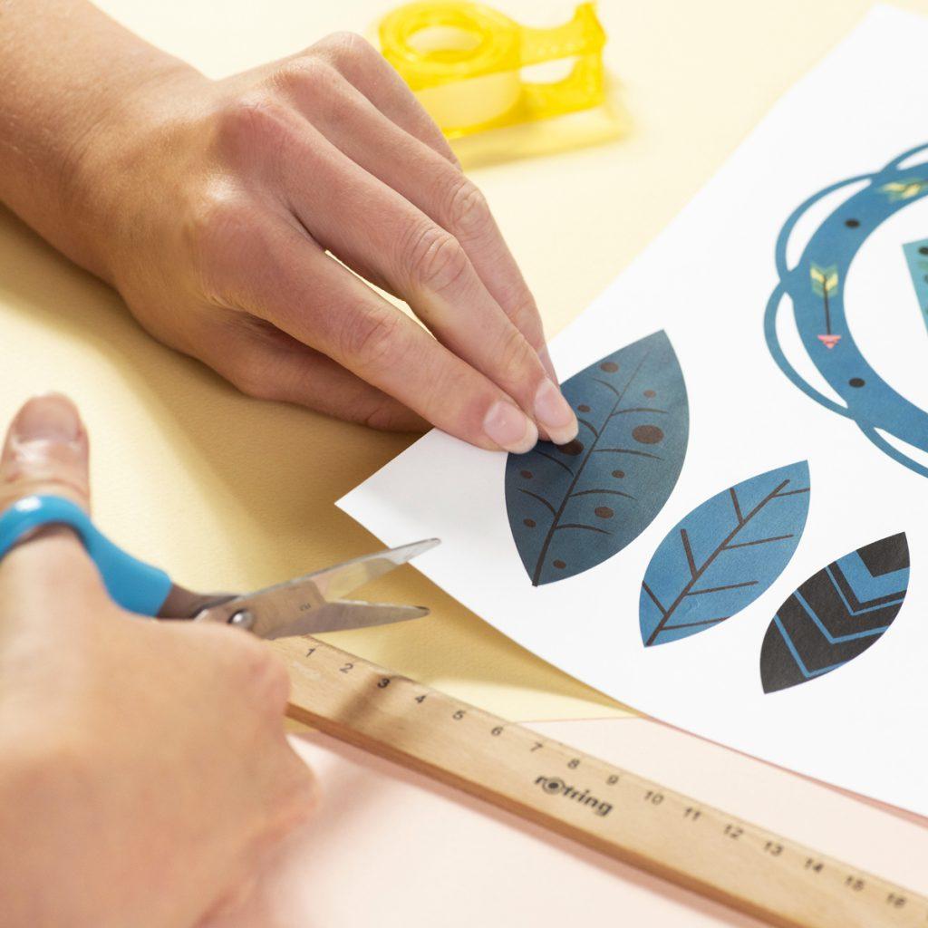 DIY Printable Dream Catcher en papier