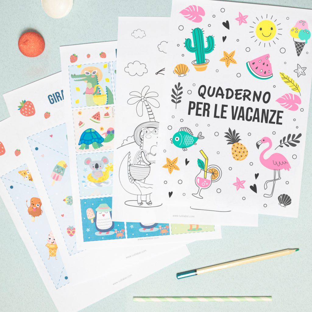 Il DIY delle vacanze : un quaderno per le vacanze