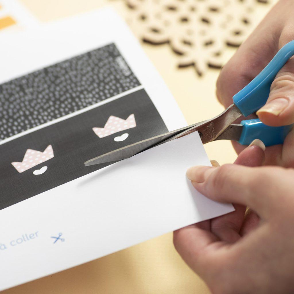 DIY Printable Couronne en papier de la galette des roi à fabriquer