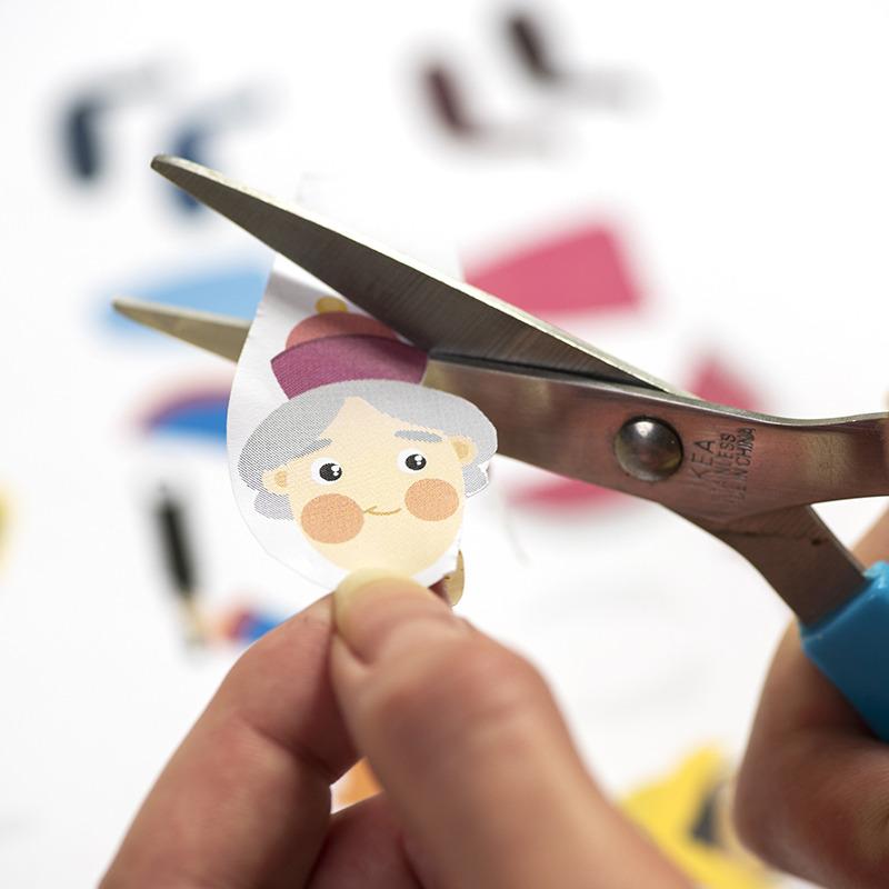 DIY Printable Rois mage en papier à découper