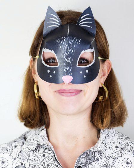 DIY Printable Masque Animaux 3D pour le Carnaval