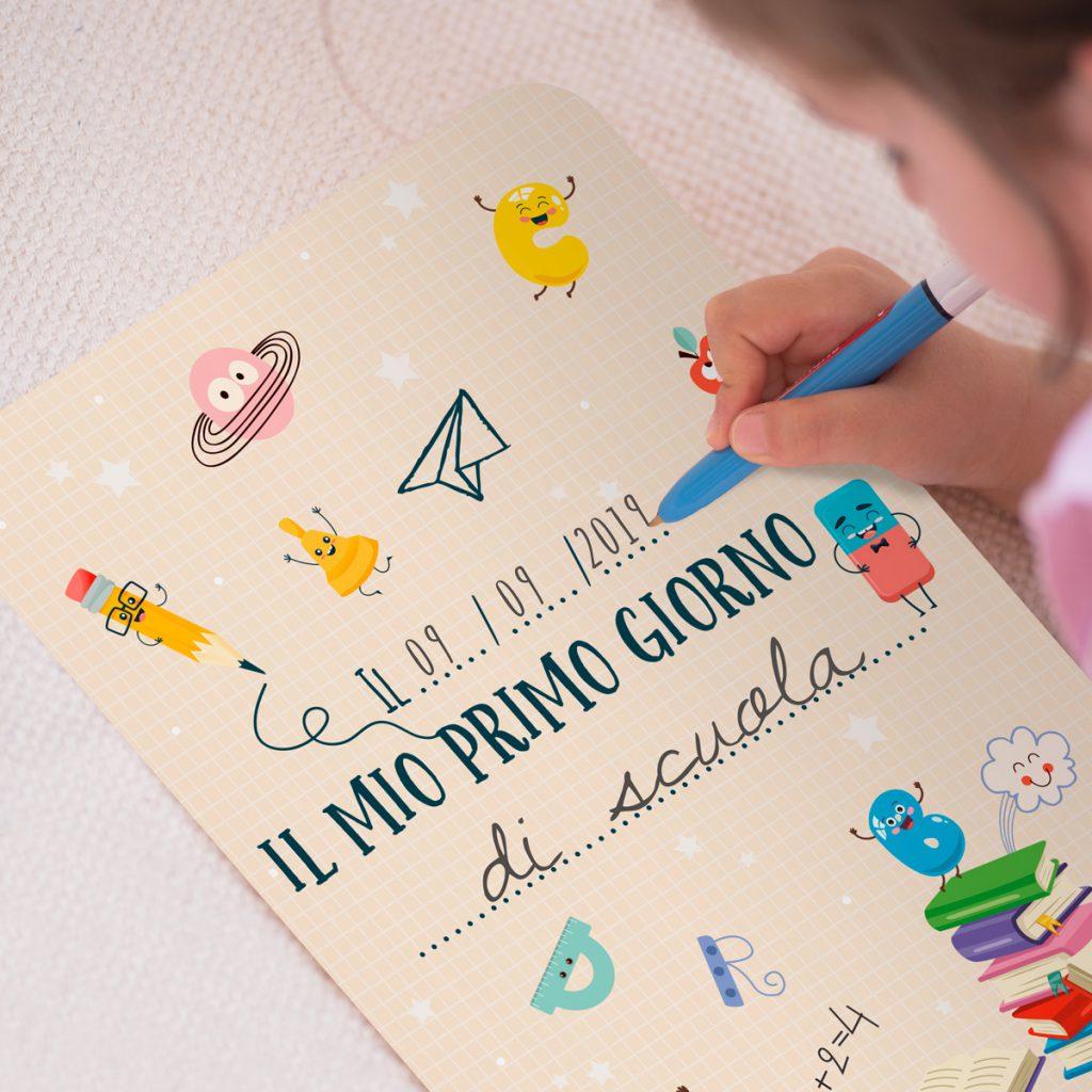 Un mini poster da stampare per il rientro a scuola!