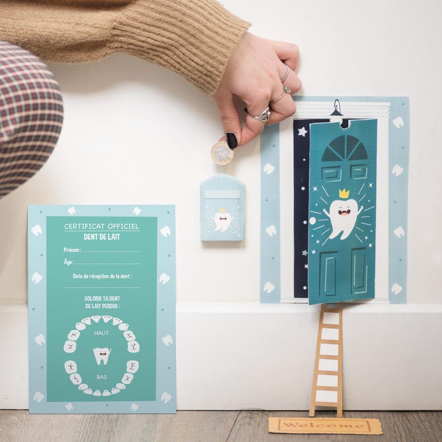 Le DIY de la petite souris porte à imprimer et monter soi même
