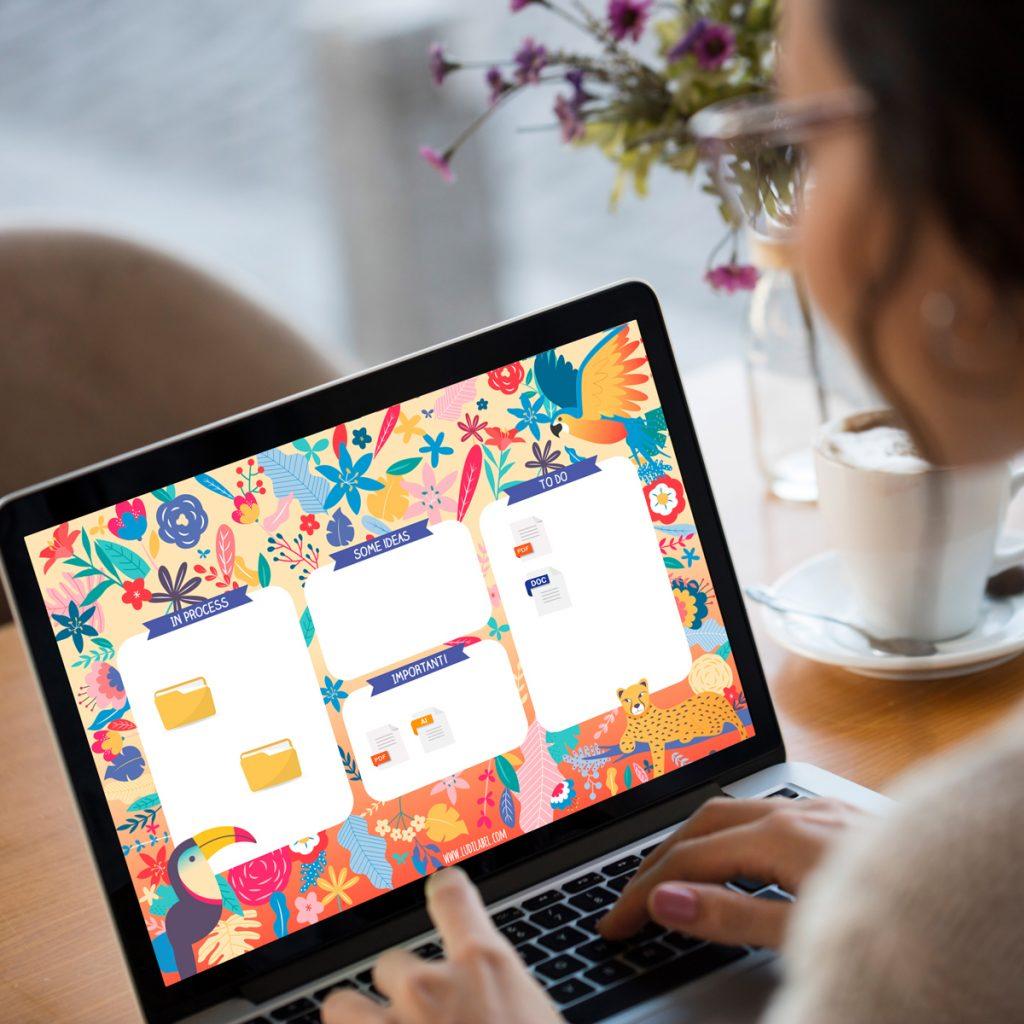 Laptop Wallpaper summer jungle vibes