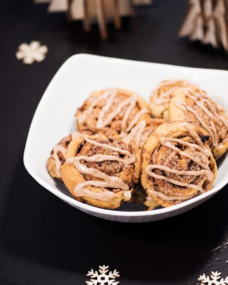cinnamon roll ou roulés à la cannelle