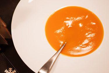 soupe d'hiver orangée