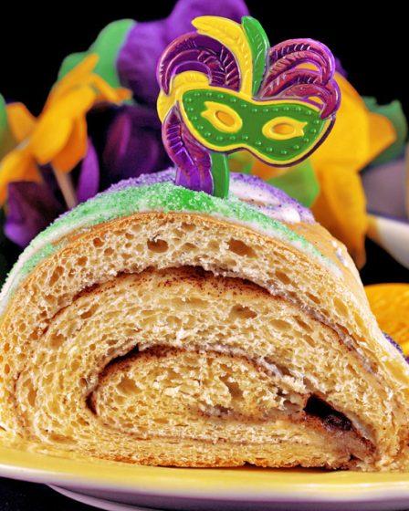 gâteau des rois de la Nouvelle Orléans