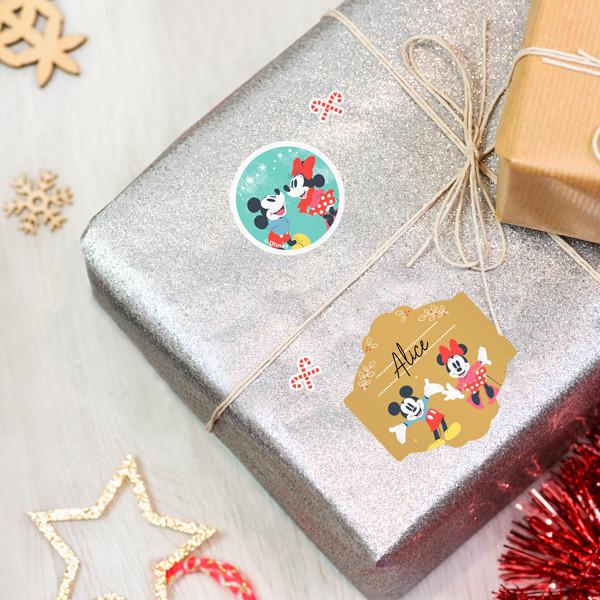 Etiquettes pour marquer les cadeaux de Noël