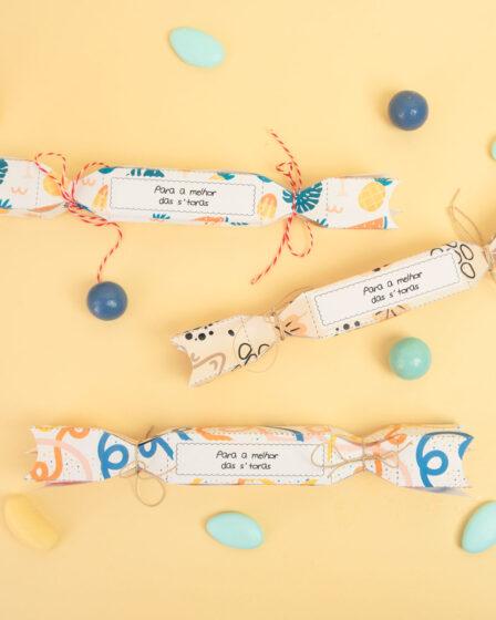 DIY : Crackers surpresa para agradecer ao professor ou à ama!